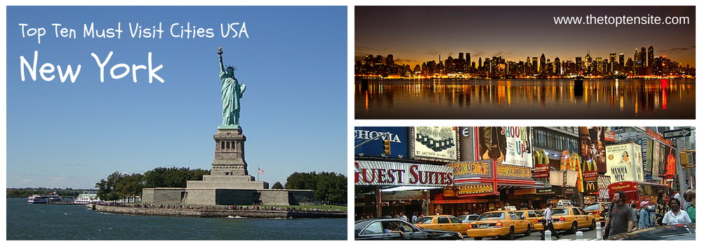 Top ten 10 must visit cities usa new york top ten for Must see attractions in new york city