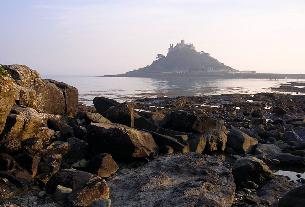 picture of st michaels mount cornwall