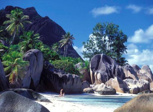 seychelles beach, the most beautiful beach in the world